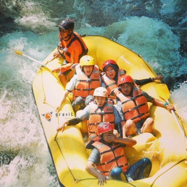 rafting pangalengan cileunca