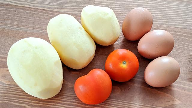 recette, 3 ingrédients, repas, pas cher, savoureux, pommes de terre