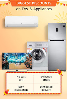 Amazon Great Indian Festival Home Appliances Offer 25th September, 2019