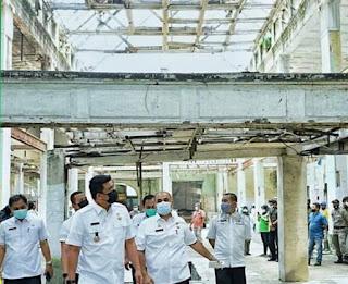 Bobby A Nasution Inginkan Bangunan Warenhuis Dikembalikan ke Wujud Aslinya