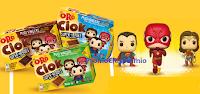 Logo Concorso ''Oro Ciok Super-Heroes'': vinci 1.000 Pupazzi Funko POP