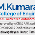 M.Kumarasamy College of Engineering, Karur, Wanted Teaching Faculty / Non-Faculty