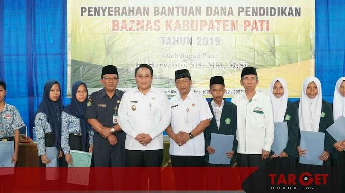 Safin Apresiasi Program Bantuan Pendidikan Baznas Kabupaten Pati