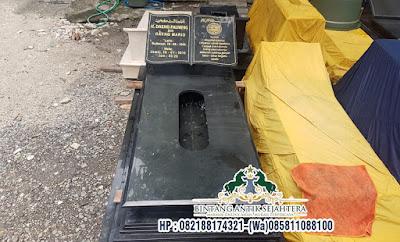 Makam Granit Uje Pasuruan, Model Kijingan Makam Granit