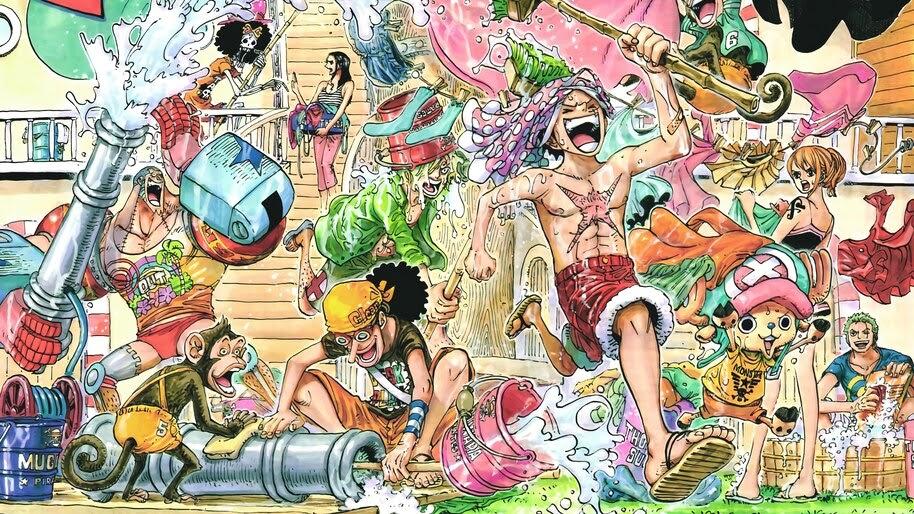 One Piece, Straw Hat Pirates, 4K, #6.165