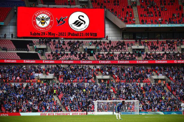 Prediksi Brentford (N) vs Swansea  ,Sabtu 29 May 2021 Pukul 21.00 WIB