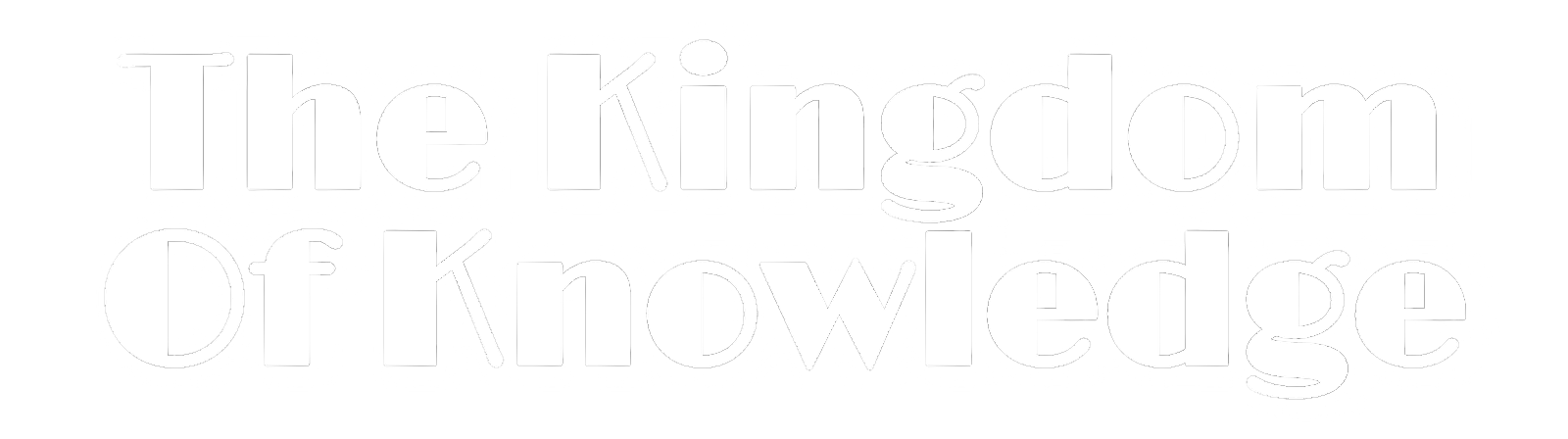 The Kingdom Of Knowledge