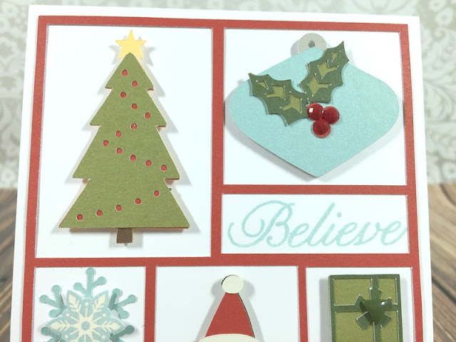 Cricut Artistry Everything Christmas card