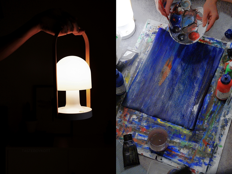 FollowMe Lamp by Marset // FollowMe Tischleuchte von Marset | Late Night Painting | Tasteboykott