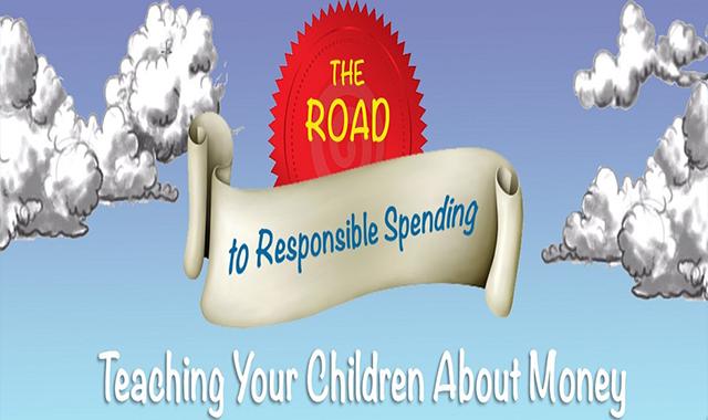 Teaching Children About Money #infographic