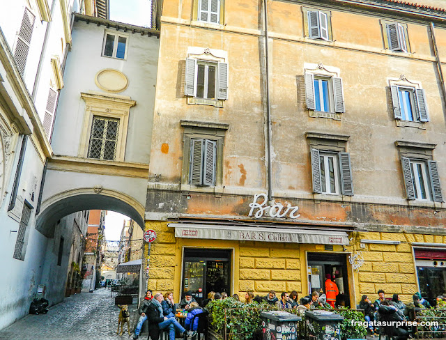 Bar no Trastevere, Roma