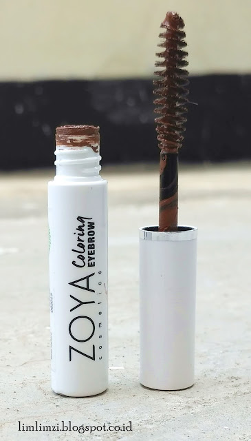review zoya eyebrow, eyeliner, lip paint