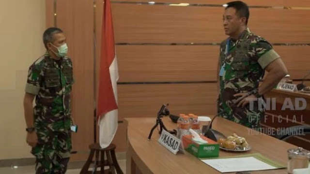 Rapat Virus Corona  TNI AD Tegang, Dua Jenderal Bintang 2 Disuruh Keluar