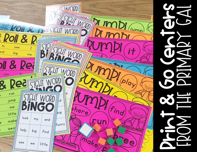 Teaching primary grades or special education means sight words should be part of your daily review. Students required repeated exposure to allow mastery of recognition. Whether you utilize these 6 fun ways as a whole class, centers, or small groups, they are sure to create a more exciting way of practice for your kids. This blog post shows a few quick, simple games and ideas to to help reinforce your students recognition of sight words. {lower elementary, special education, centers}