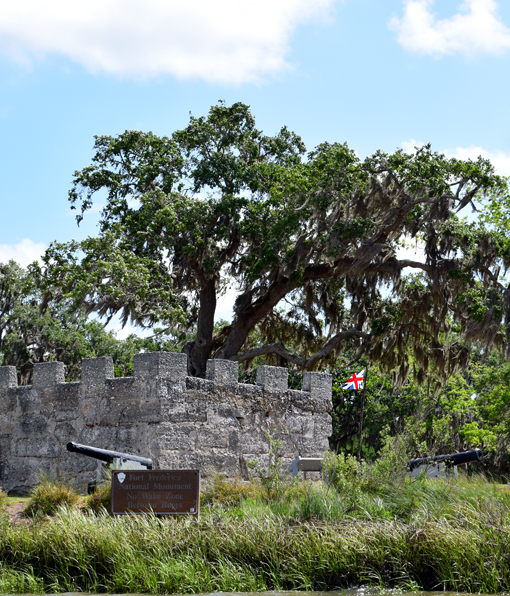 Fort Frederica | Photo: Travis S. Taylor