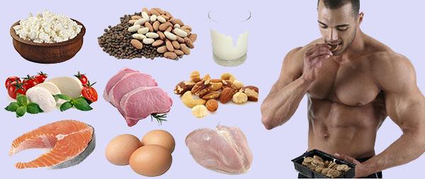 اطعمة غذائية طبيعية للعضلات