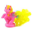 MLP Dark Pink Clock Pony Year 8 Ponytail Ponies Petite Pony