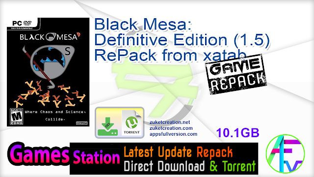 Black Mesa Definitive Edition (1.5) RePack from xatab