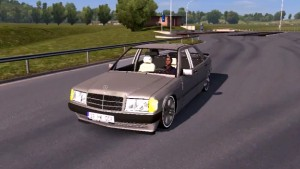 Mercedes 190E car mod