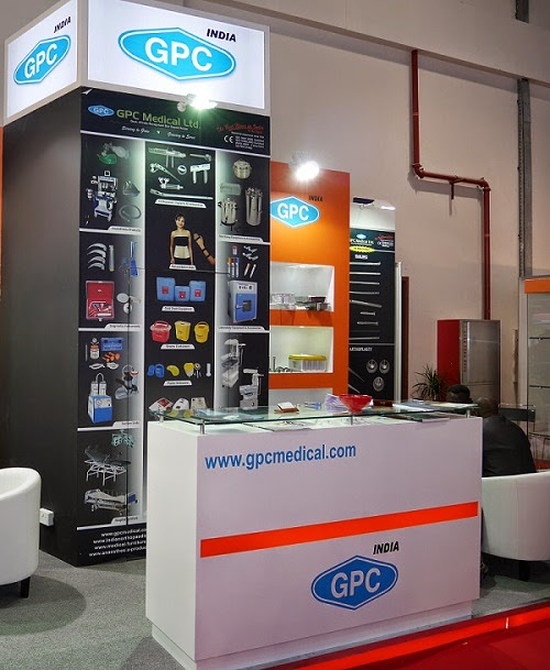 GPC Medical at Arab Health 2014, Dubai