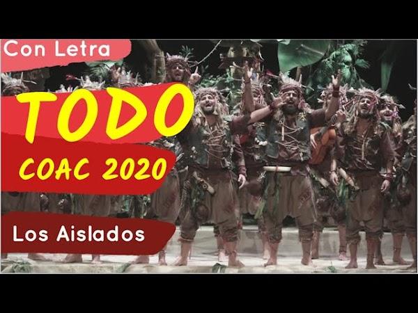 """Presentacion, Popurri y TODOS los Pasodobles con LETRA de la Comparsa """"Los Aislados"""" (2020)"""