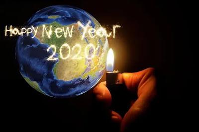 Happy New Year 2020 Earth Photos