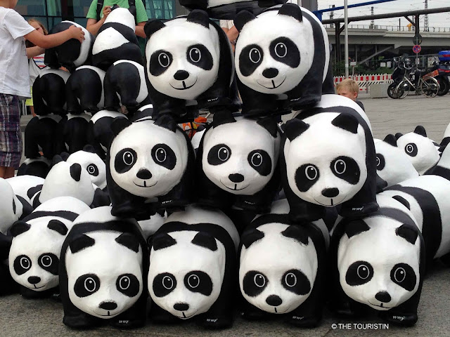 Who stole the Pandas, WWF, Berlin, Europe
