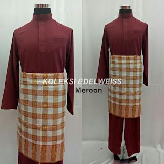 Baju Melayu Cekak Musang  Meroon