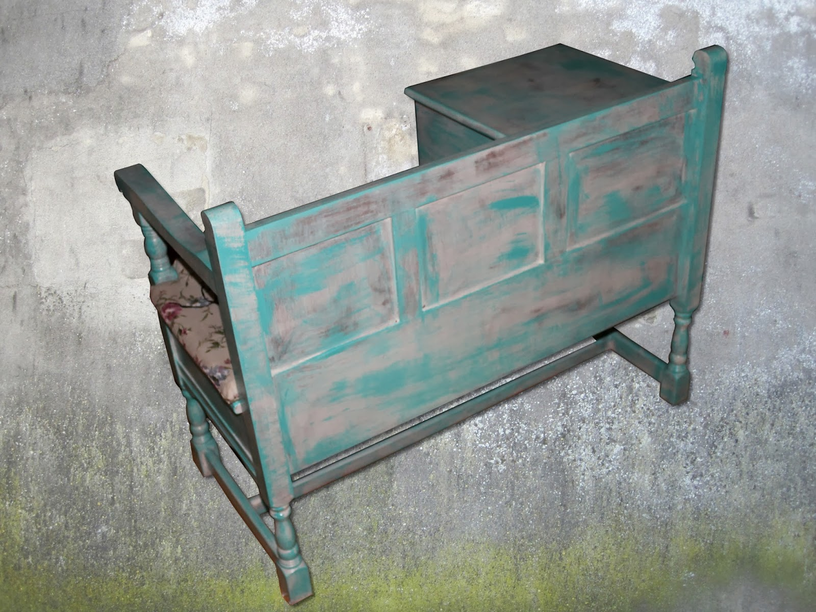telefonbank shabbyphone. Black Bedroom Furniture Sets. Home Design Ideas