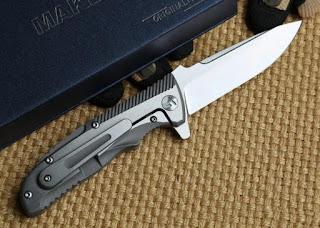 Maker I - the premium titanium version of the Enlan EL-01 flipper