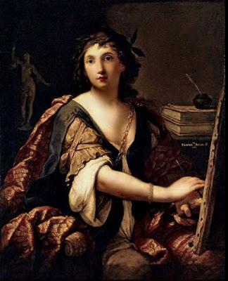 Autoportrait (1658), Elisabetta Sirani