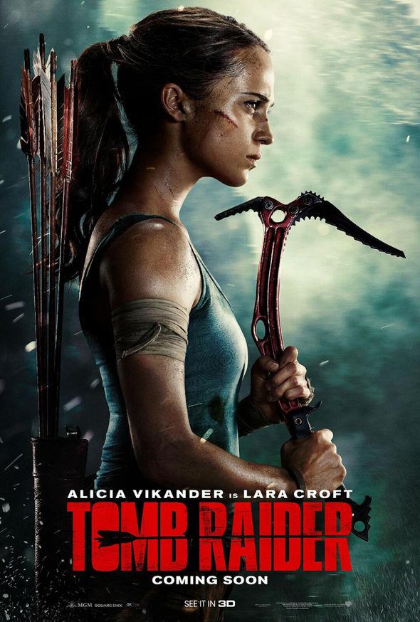 Tomb Raider 2018 English 300MB HD-TC 480p x264