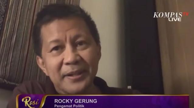 Rocky Gerung Kritik Sikap Jokowi Soal 75 Pegawai KPK: Hanya Permainan Komunikasi Politik