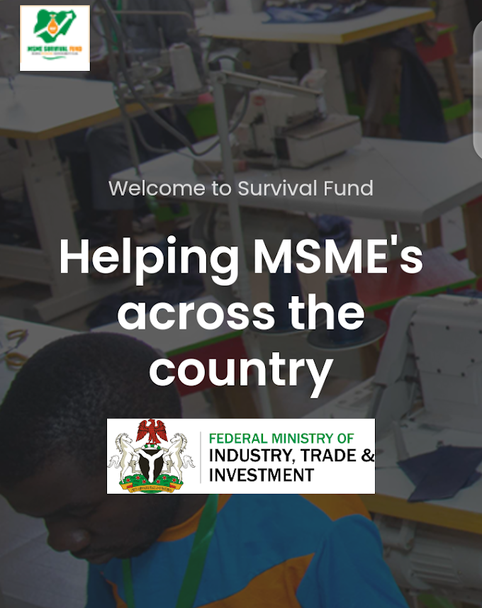 How To Apply For Survival Fund Grant By The Federal Government of Nigeria & CBN (Complete Guide)