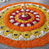 Traditional Onam pookalam Designs Latest Pictures