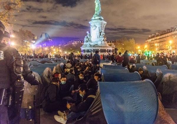 L'évacuation des migrants à Paris justifiée pour trois quarts des Français