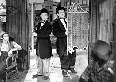 Stan Laurel Oliver Hardy Way Out West 1937 comedy