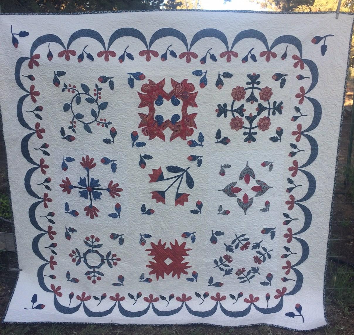 Humble Quilts: Benjamin Biggs Wedding Quilt