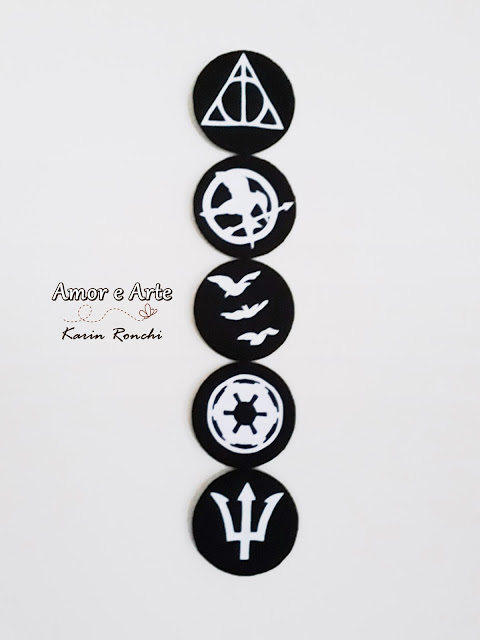 Símbolos de sagas