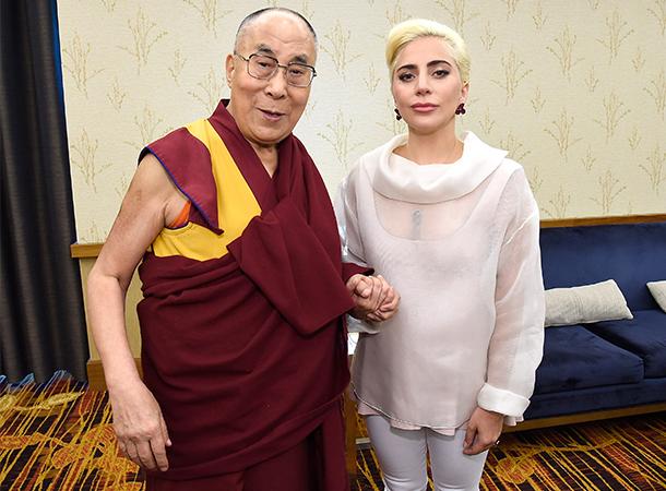 Lady Gaga Talks with Dalai Lama About Kindness