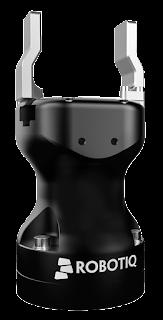 Kolaboratif robotlar ile tak-çalıştır kullanılan Robotiq elektrikli gripper modeli