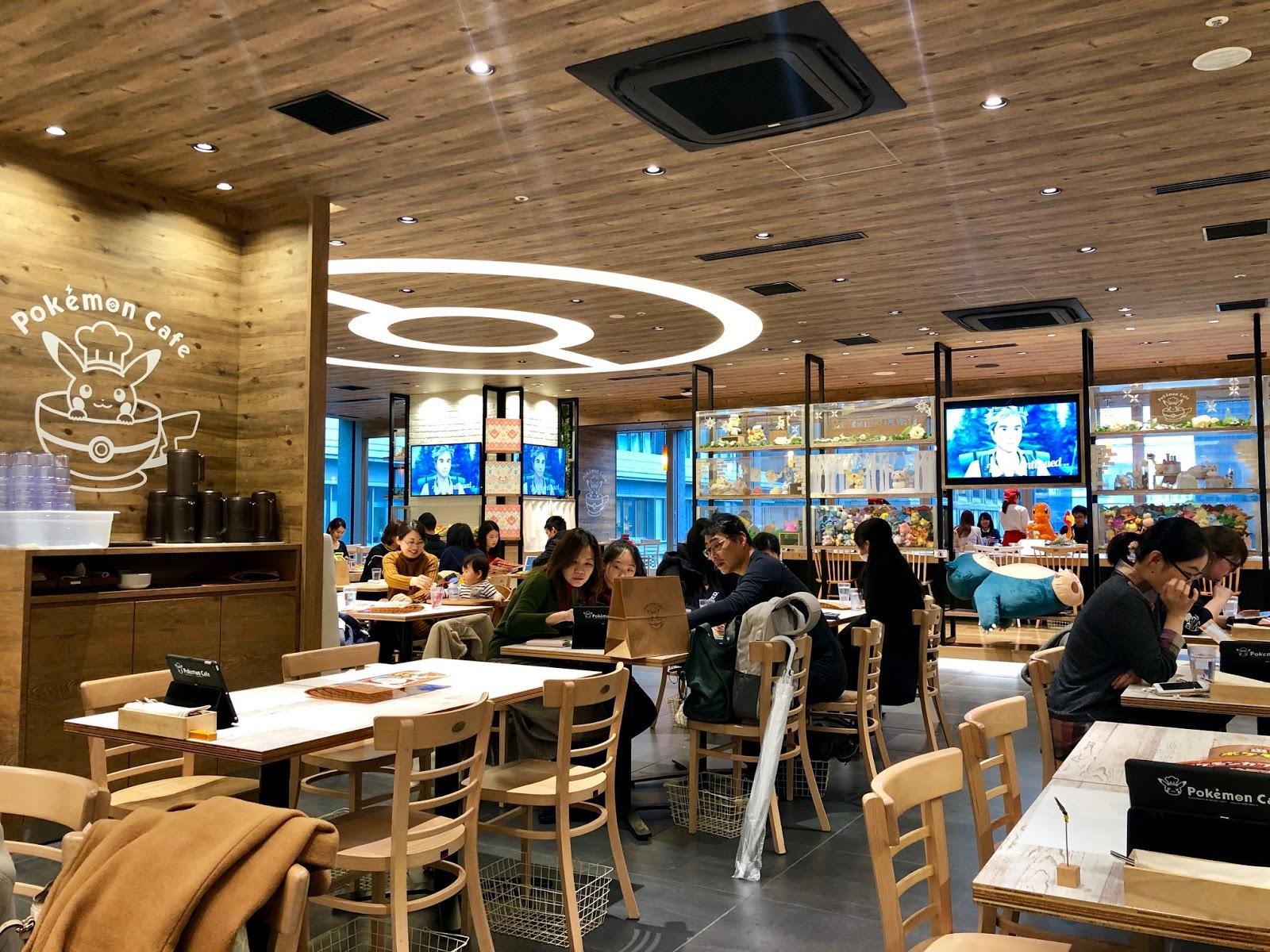 Pokemon Cafe Japan Review