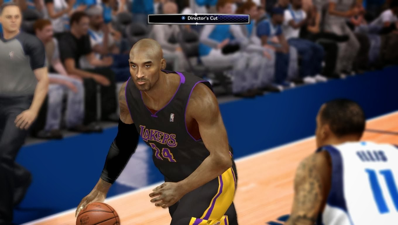 NBA 2K14 Kobe Bryant Face Mod Pack