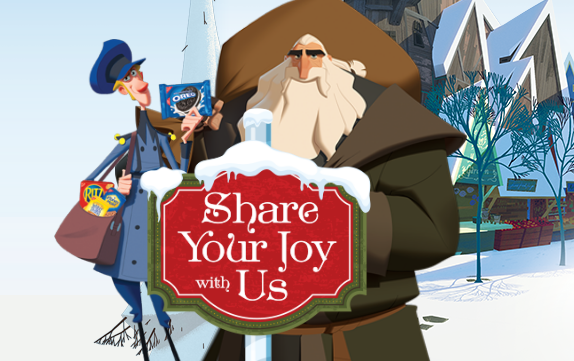 Travel through the Town of Smeerensburg with Nabisco and share your joy with them for your chance to win $10,000 CASH or other great holiday prizes!