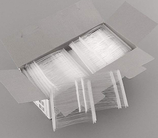 White Pins Label Ready to Use for Clothing with Price Tag and Free Barcode Label printing Software