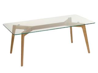 mesa baja sofa moderna roble