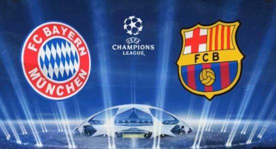 مباراة بايرن ميونخ ضد برشلونة