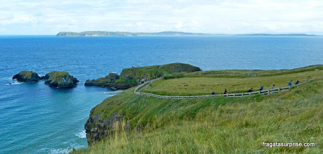 Irlanda do Norte - Carrick-a-Rede