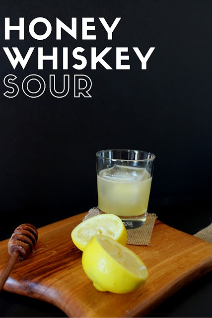 An alternative to a classic whiskey sour.