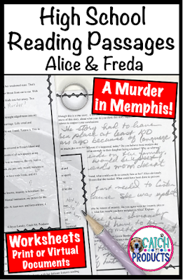 Teachers Pay Teachers resource for teens about murder in Memphis from the 18th century. #TpT #teachers #highschool